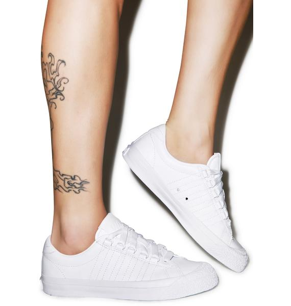 K-SWISS White Irvine Sneakers