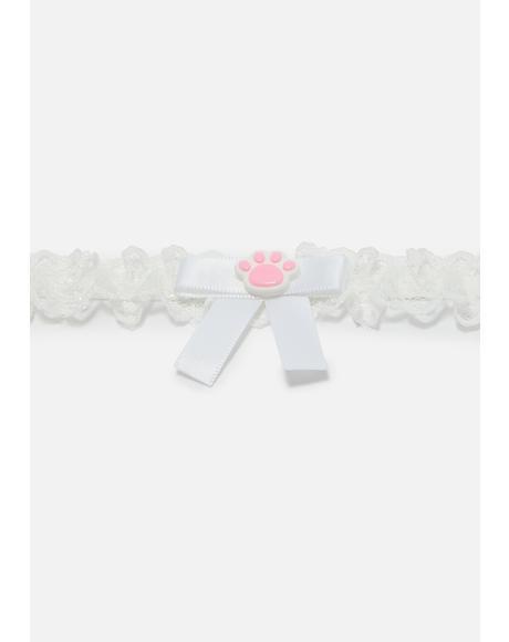 Beary Cute Lace Choker