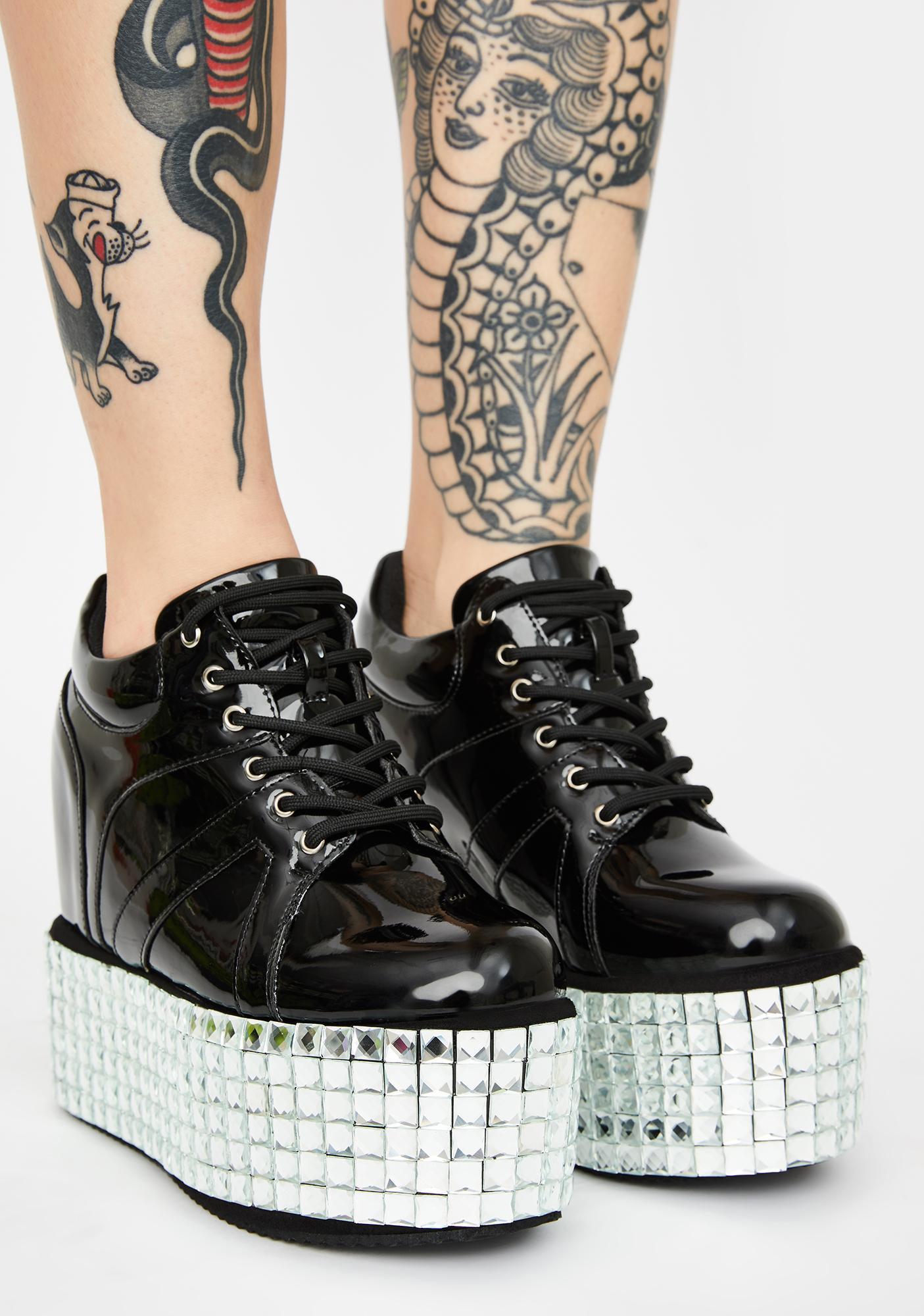 Disco Stomp Platform Sneakers