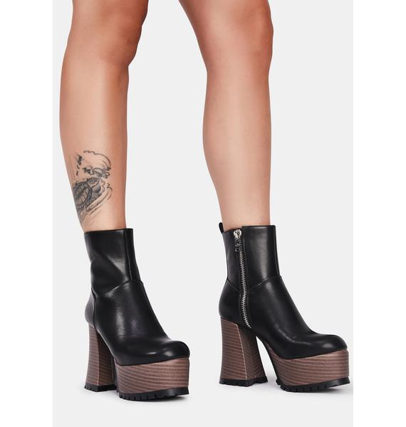 Current Mood She's So Sassy Platform Boots