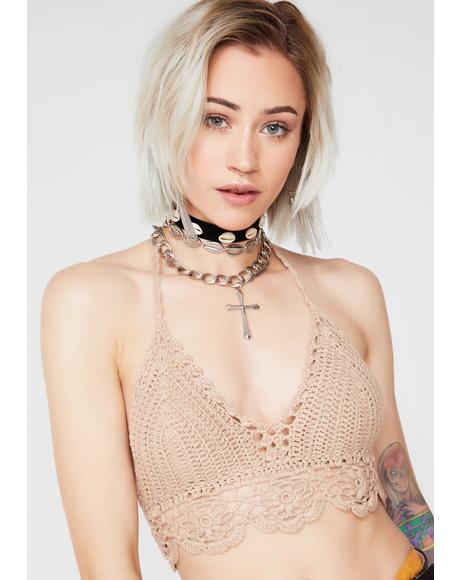 Wildflower Crochet Top