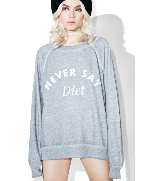 Never Say Diet Sommer's Sweater