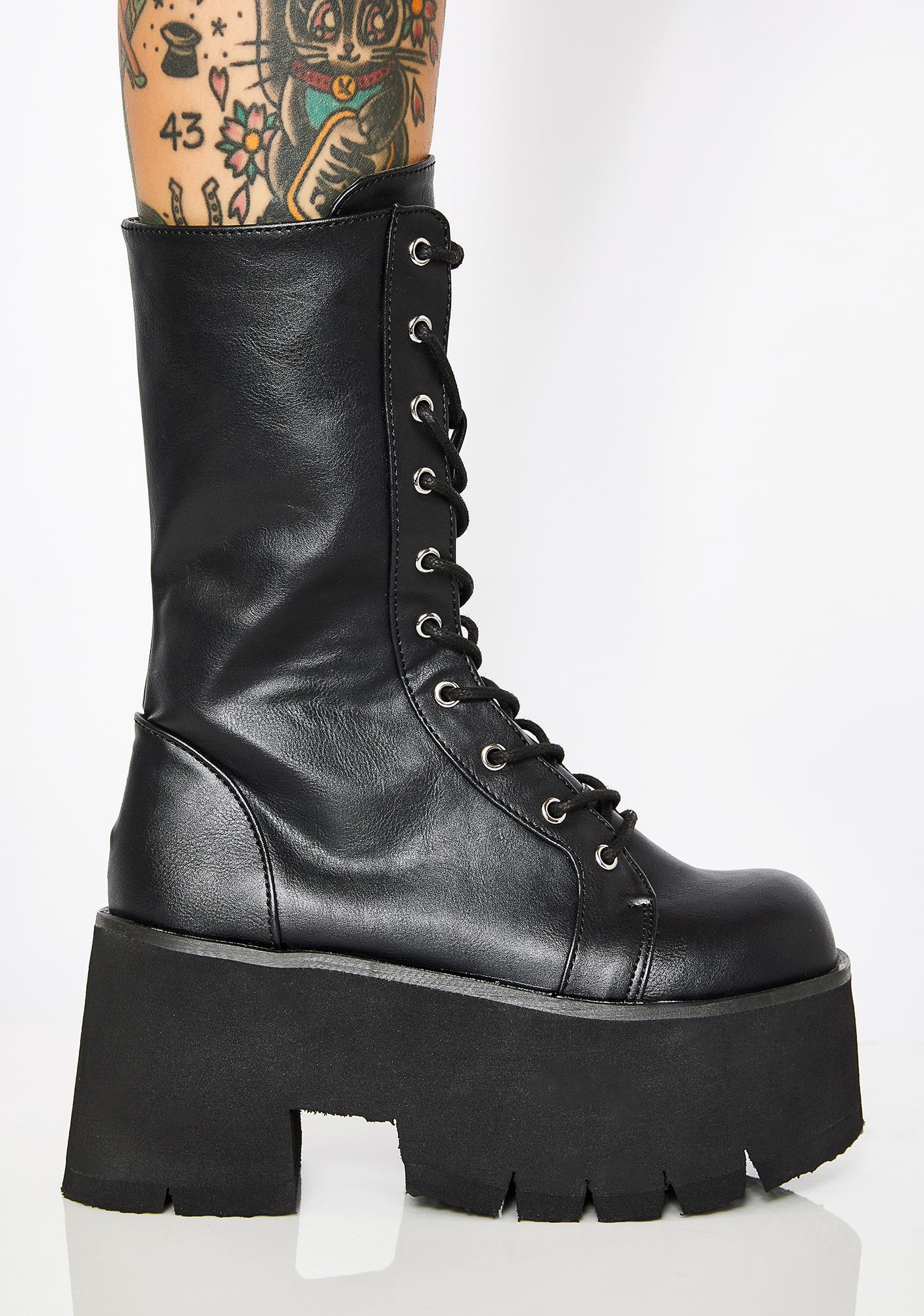 d2c35819a Sacred Ashes Platform Boots