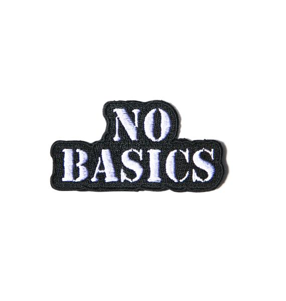 No Basics Patch