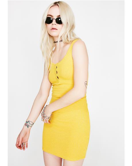 Smize N' Shine Tank Dress