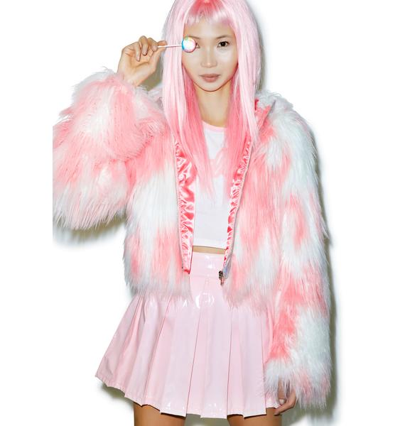 24HRS Faux Fur Phenomena Coat