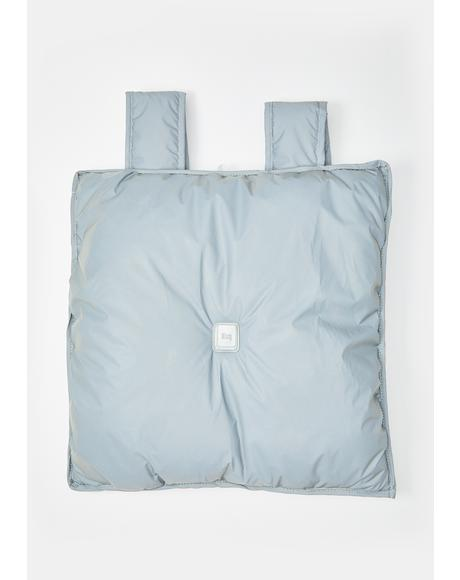 Reflective Pillow Backpack