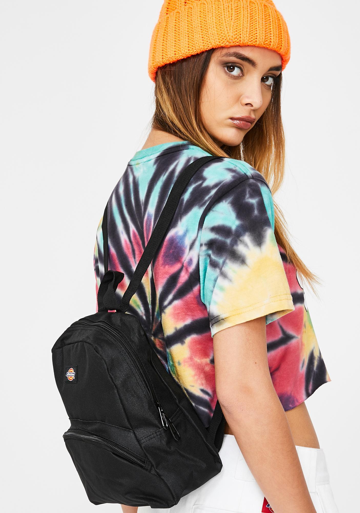 Dickies Black Mini Backpack