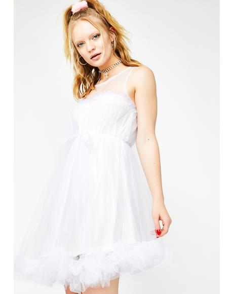 Pure Romantic Splendor Tulle Dress