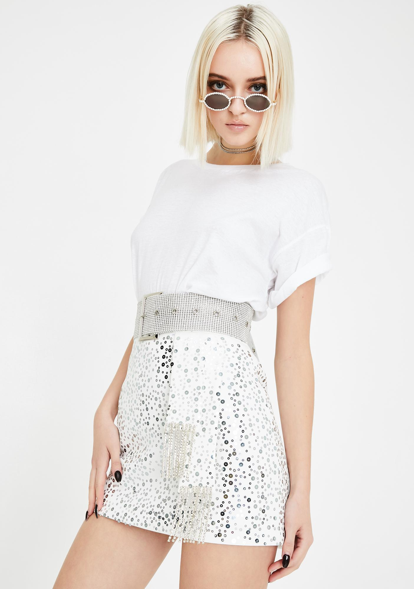 Kiki Riki Disco Chic Mini Skirt