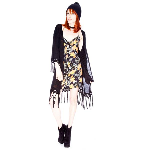 Minkpink Twisted Fantasy Cape