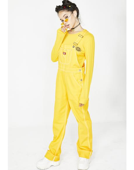 Canary Relaxed Twill Overalls