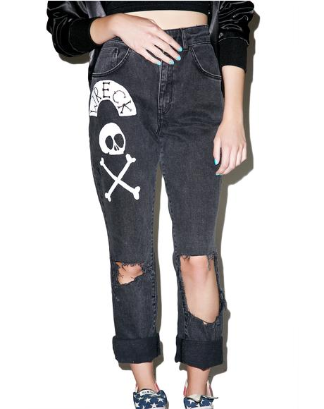 Salvage Mom Jeans