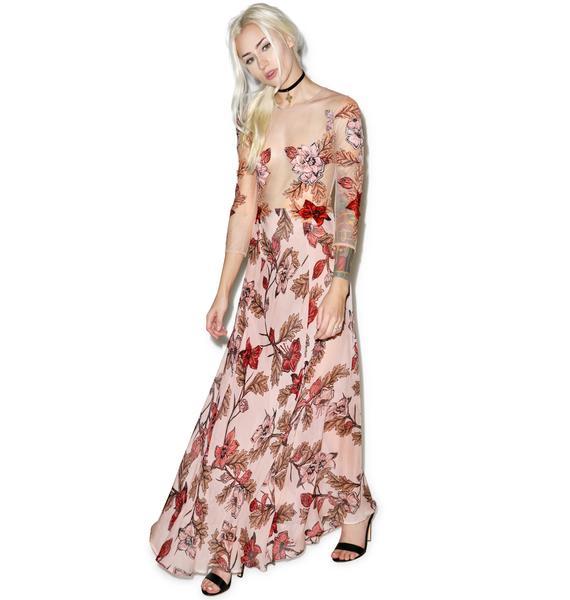For Love & Lemons Sierra Maxi Dress