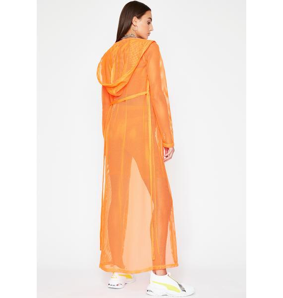 Glam Fusion Sheer Kimono
