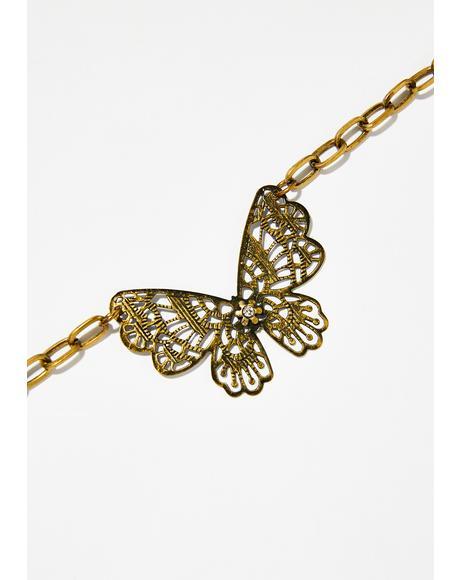 Dancin' In The Wild Butterfly Choker