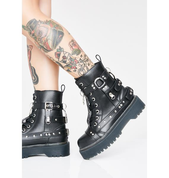 Strange Cvlt Disorder Bondage Boots