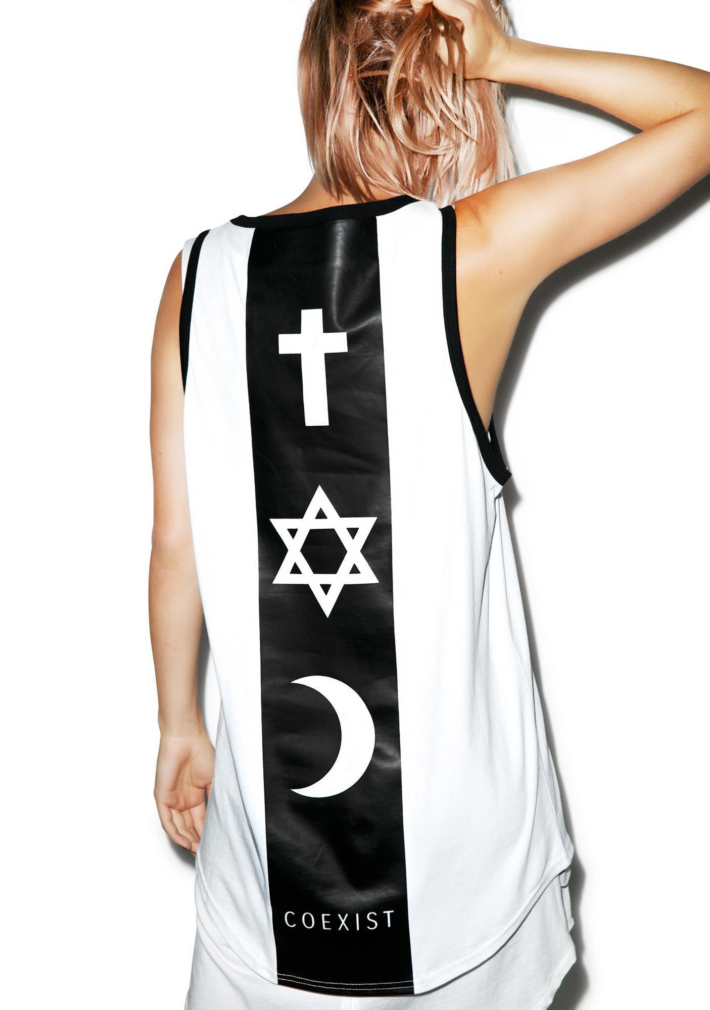 Defend Paris Coexist Backbone Tank