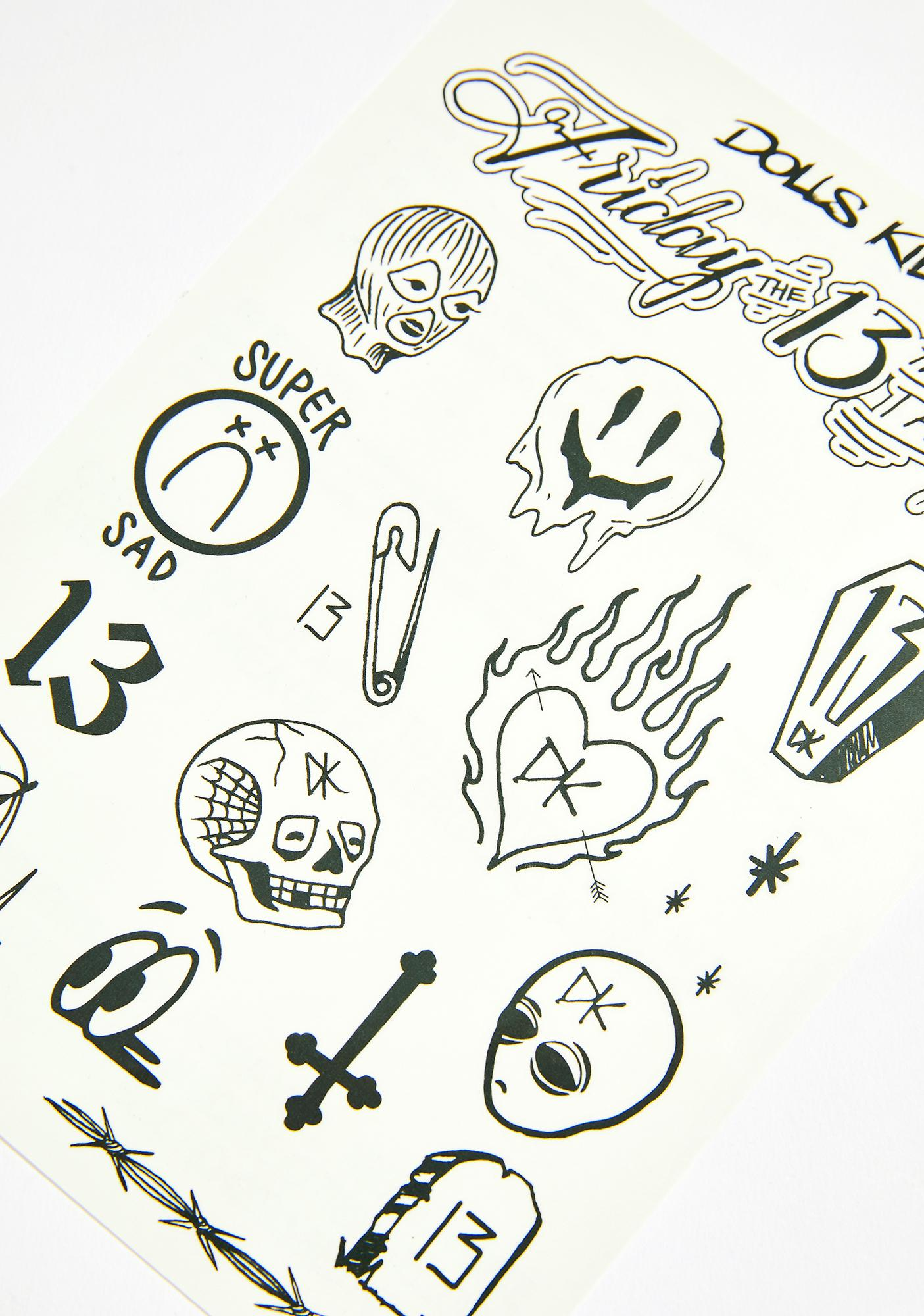 Current Mood Friday The 13th Flash Tattoos