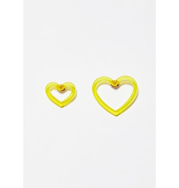 Sunny Feel The Luv Earrings