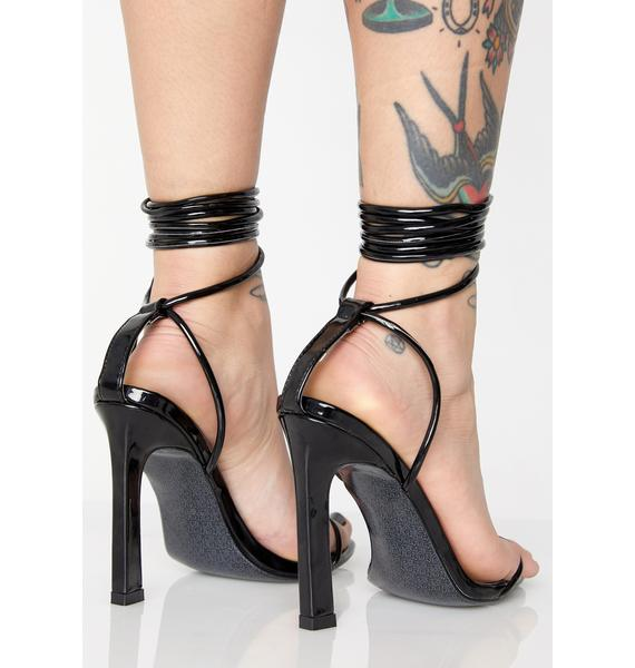 Here To Slay Wrap Heels