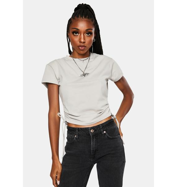 Nana Judy Authentic Gather Crop Tee