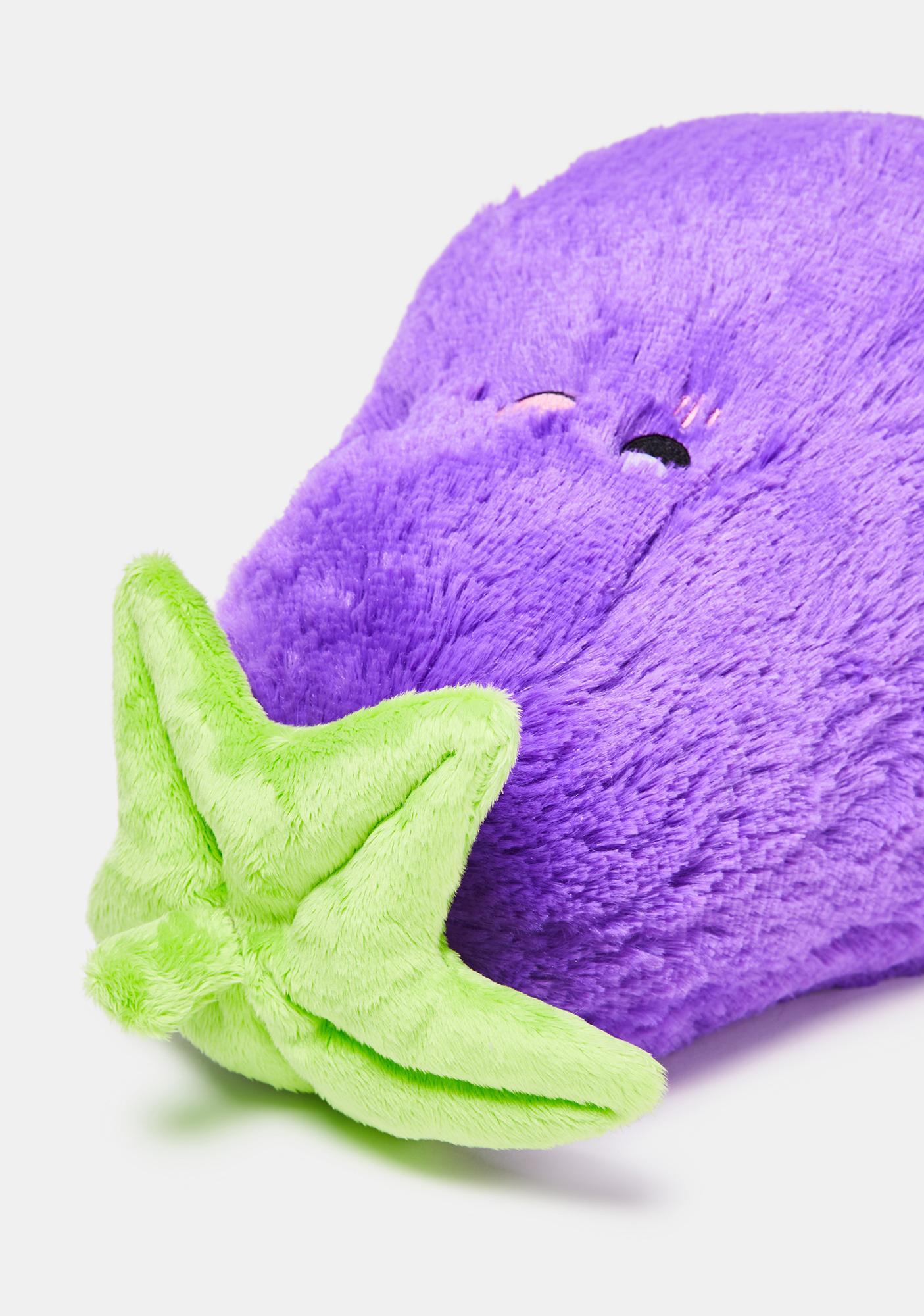 "Squishable Eggplant 15"" Stuffed Toy"