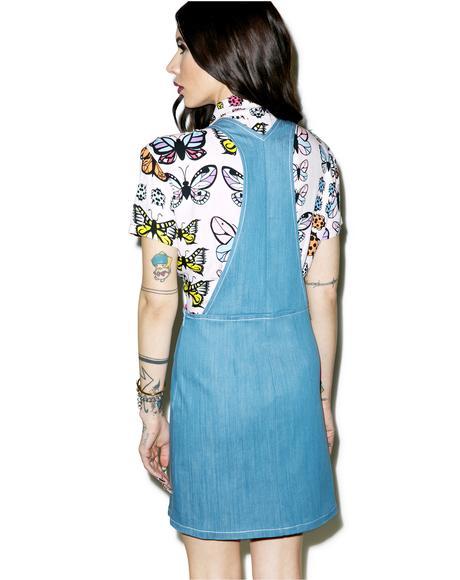 Crema Overall Dress