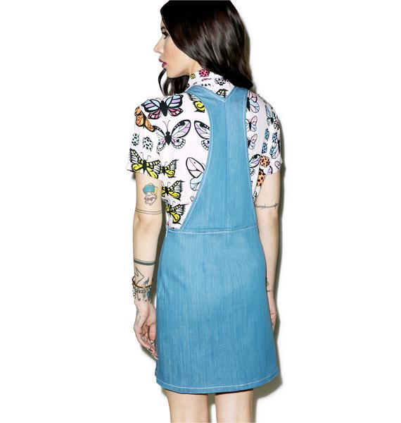 Valfré Crema Overall Dress