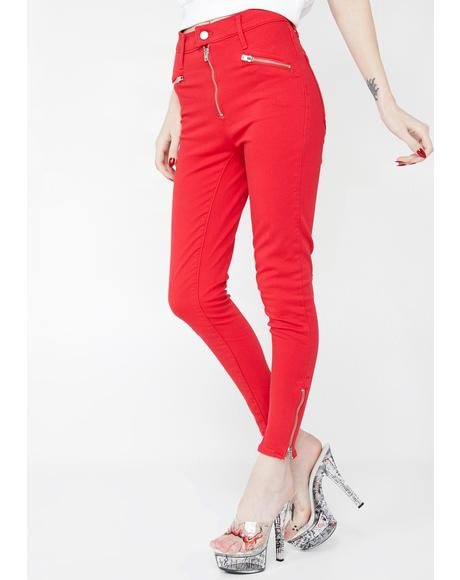 Moto MH Ankle T2 Jeans