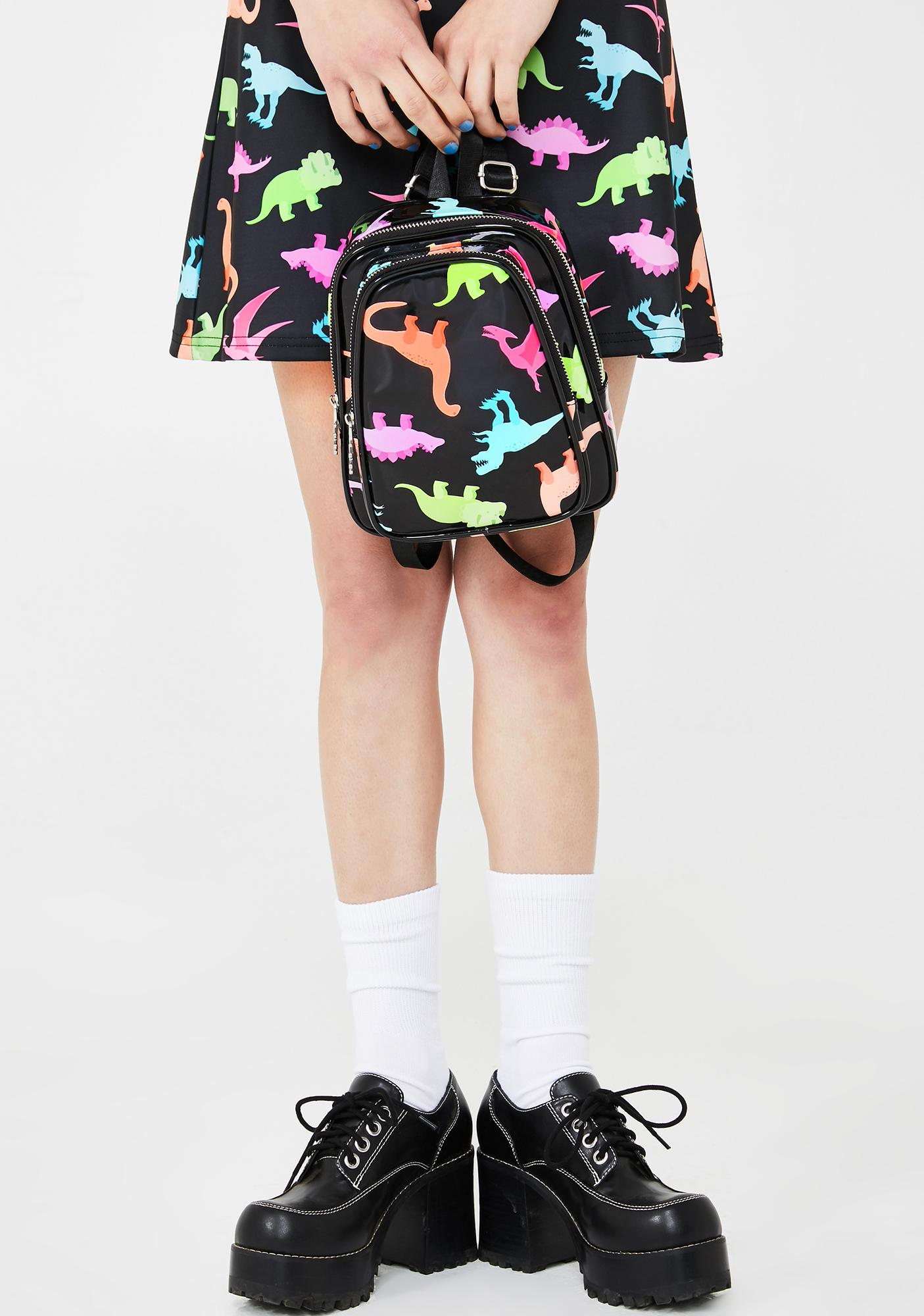 dELiA*s by Dolls Kill Totally Dino-Mite Mini Backpack