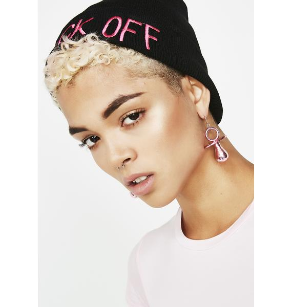 Binky BB Metallic Earrings