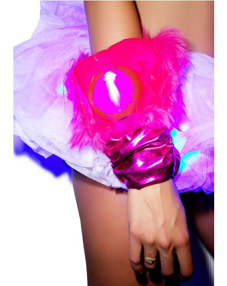Flashing Lights Gloves