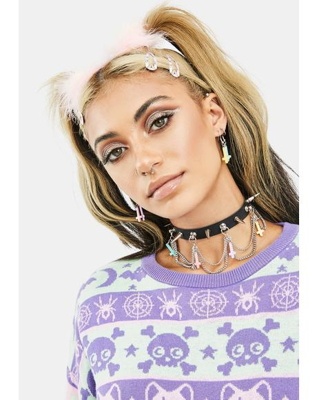 Gives You Hell Chain Choker
