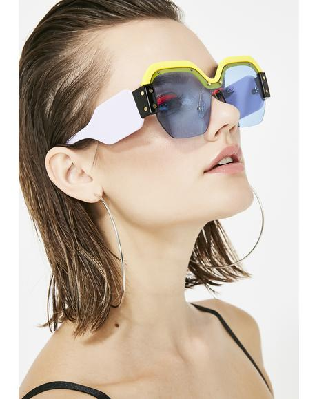 Fashion Killa Oversized Sunglasses