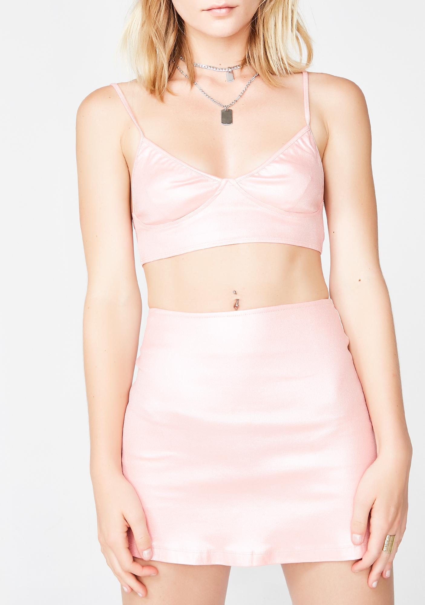 Motel Candy Shimmer Ewi Skirt