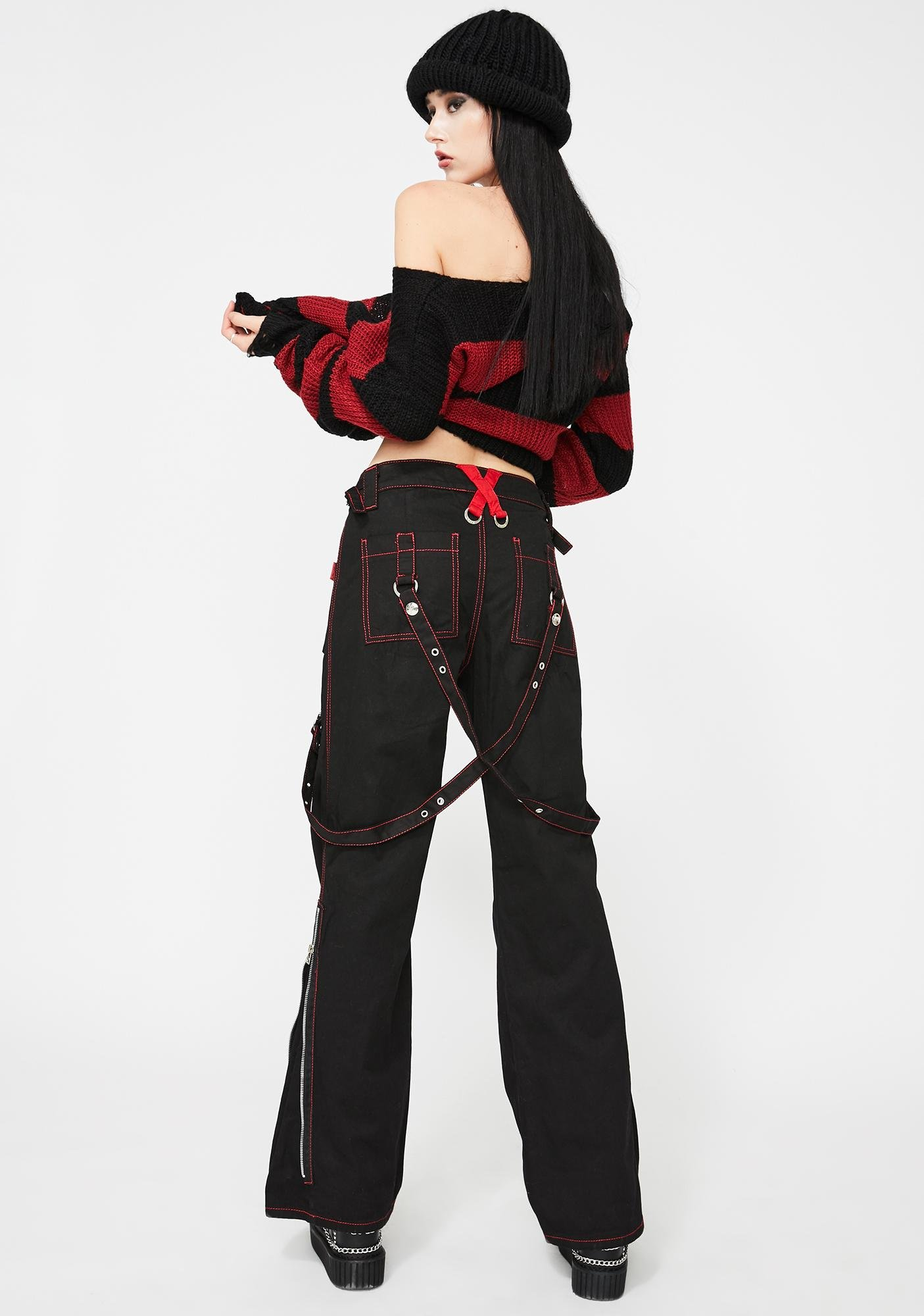 Tripp NYC X-Power Lace-Up Pants
