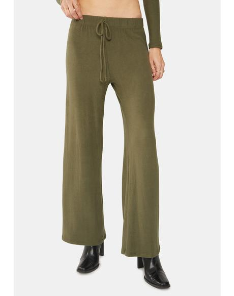 Olive Lounge Pants