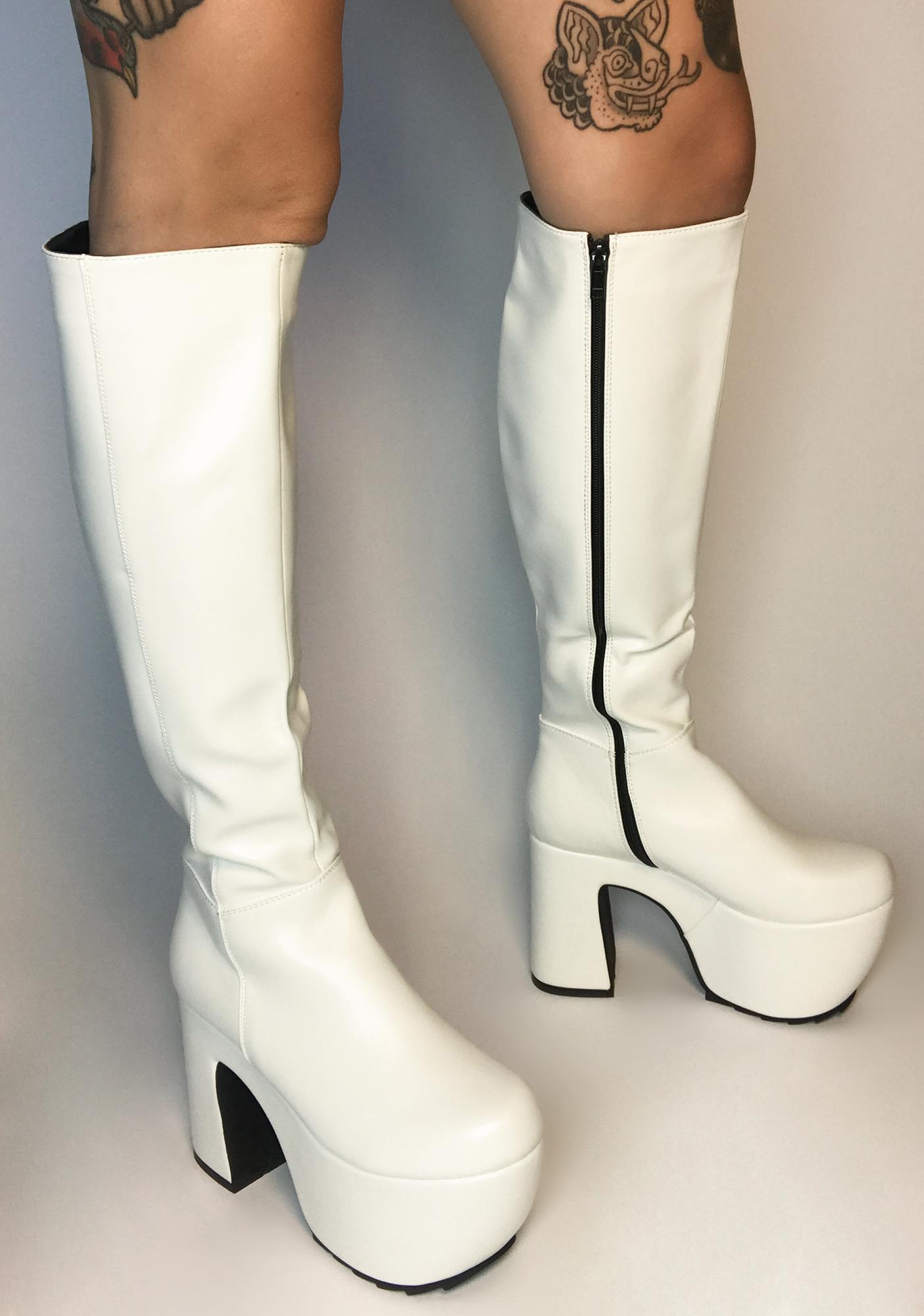 Lamoda Boo Gotta Level Up Knee High Boots