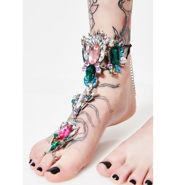 Sparklin' Steps Foot Chain