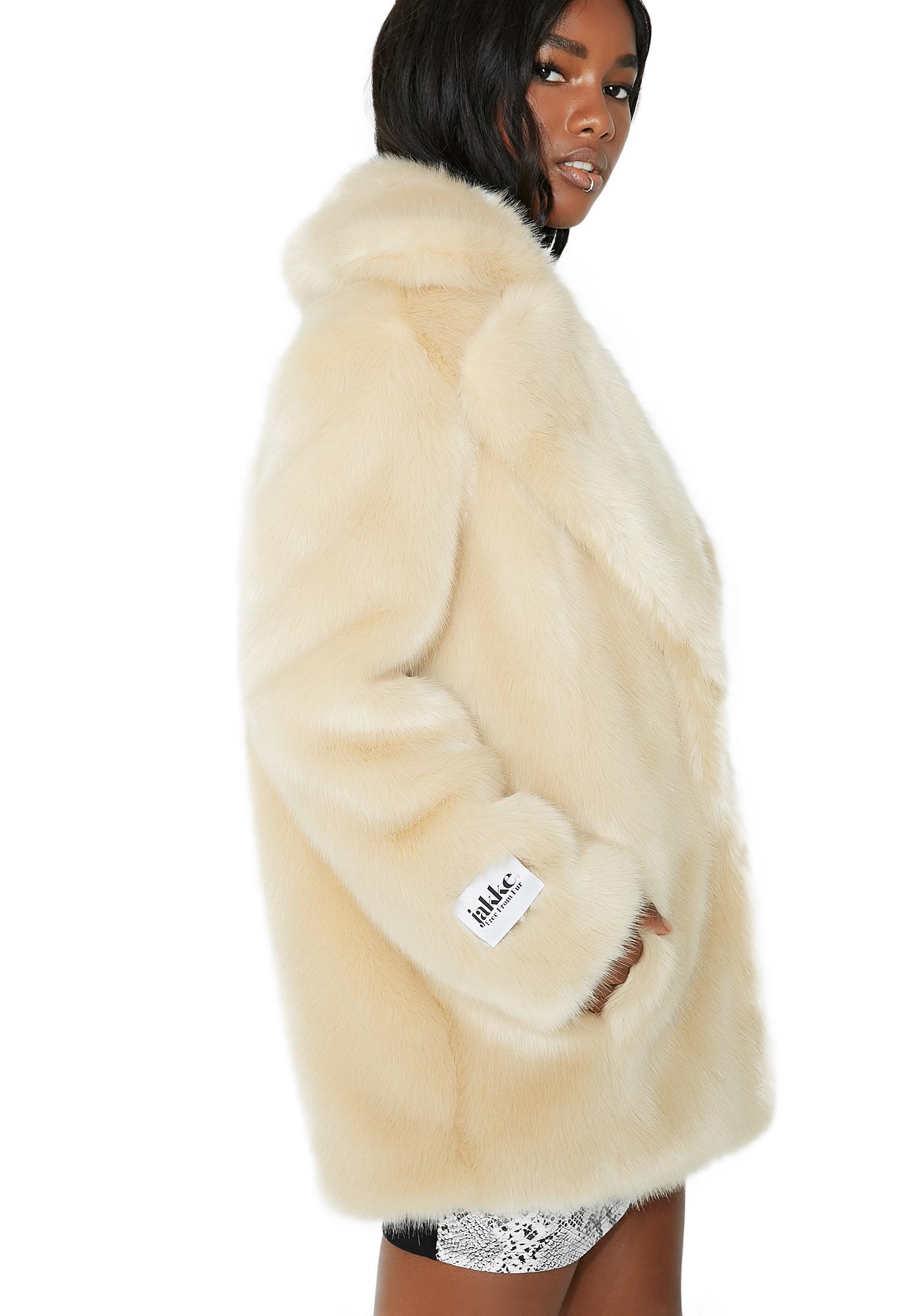 Jakke Blonde Heather Coat