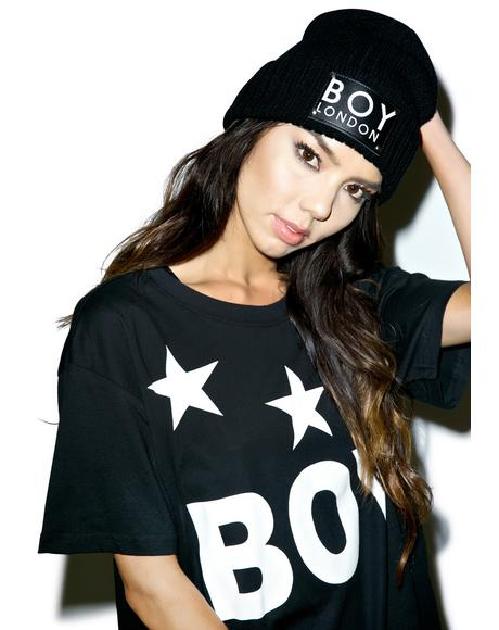 BOY Patch Beanie