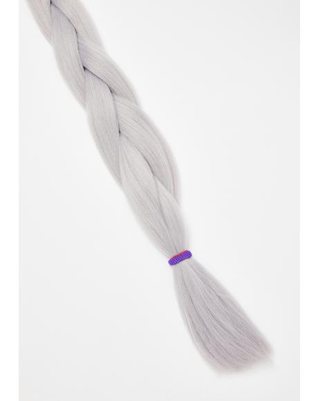 Grey Add In Hair Extensions