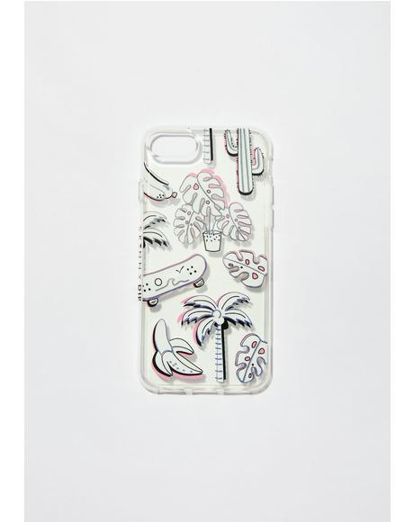 California Dreamin' iPhone Case