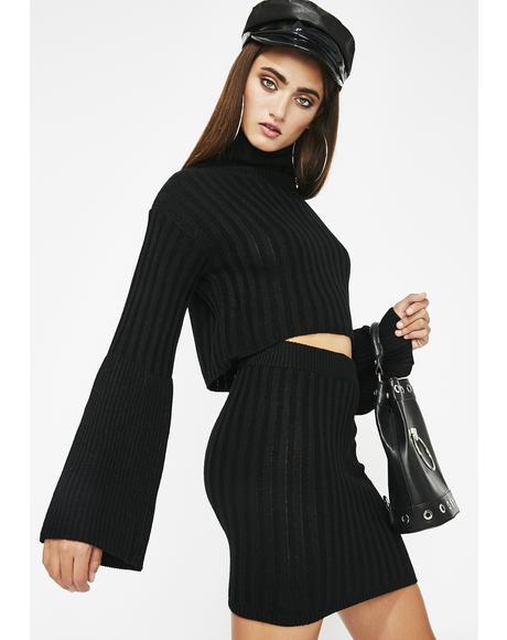 Not Yo Role Model Sweater Set