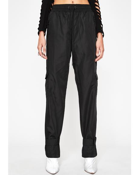 Dark Toxic Delivery Cargo Pants