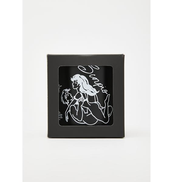 Black Cake Scorpio Zodiac Massage Candle