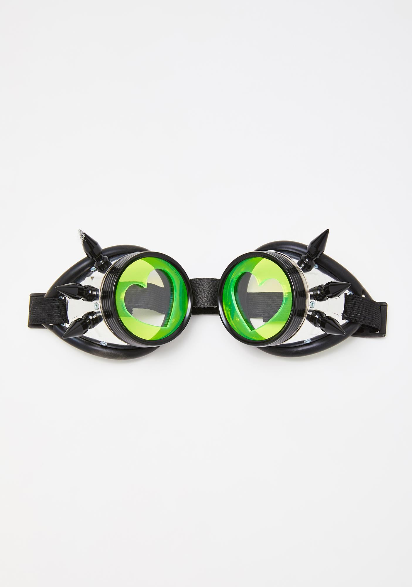 Atomic Love Acrylic Goggles