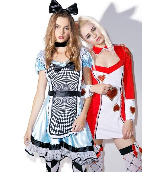 Mesmerizing Miss Alice Costume Set
