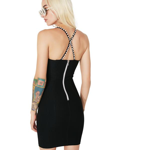 Hepburn Honey Bodycon Dress